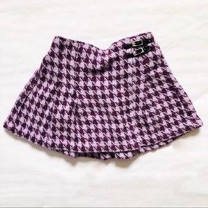 G i n g h a m  Pattern  skirt